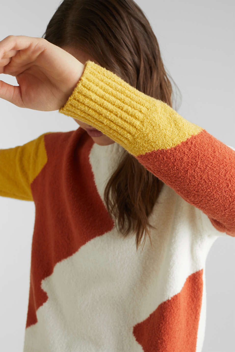 Sweaters, BURNT ORANGE, detail image number 2