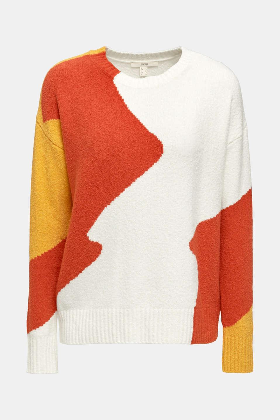 Sweaters, BURNT ORANGE, detail image number 7