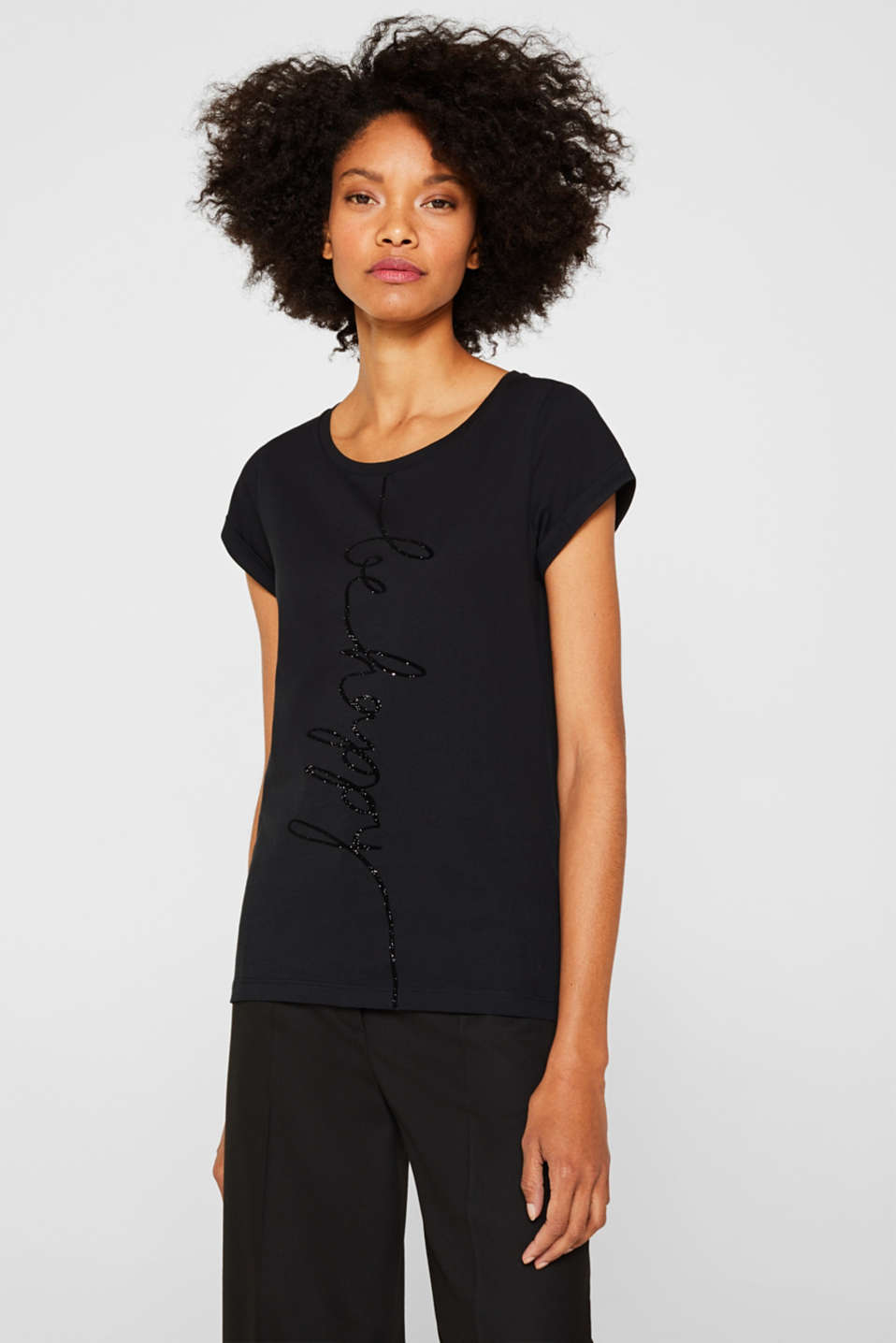 T-Shirts, BLACK 2, detail image number 0