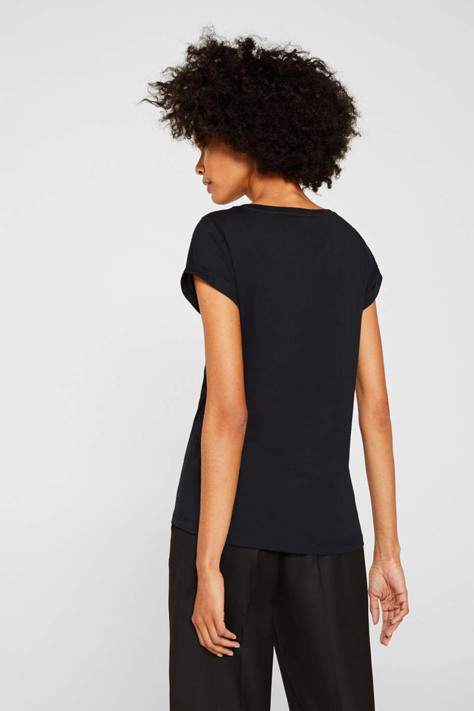 T-Shirts, BLACK 2, detail image number 3