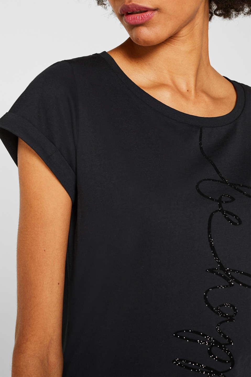 T-Shirts, BLACK 2, detail image number 2