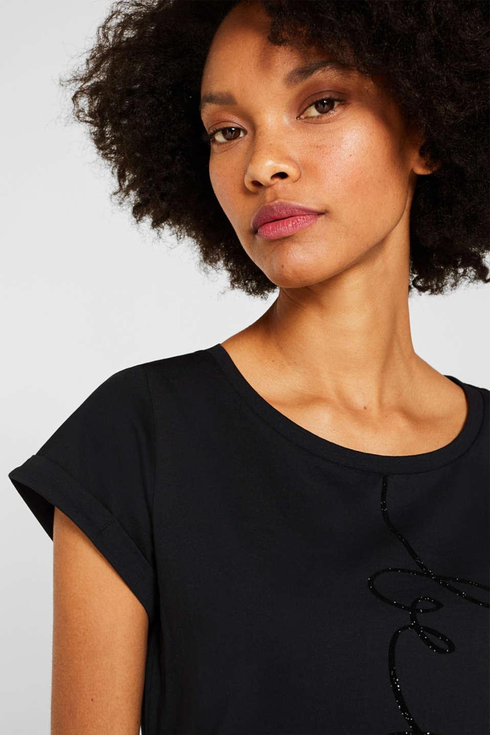 T-Shirts, BLACK 2, detail image number 5
