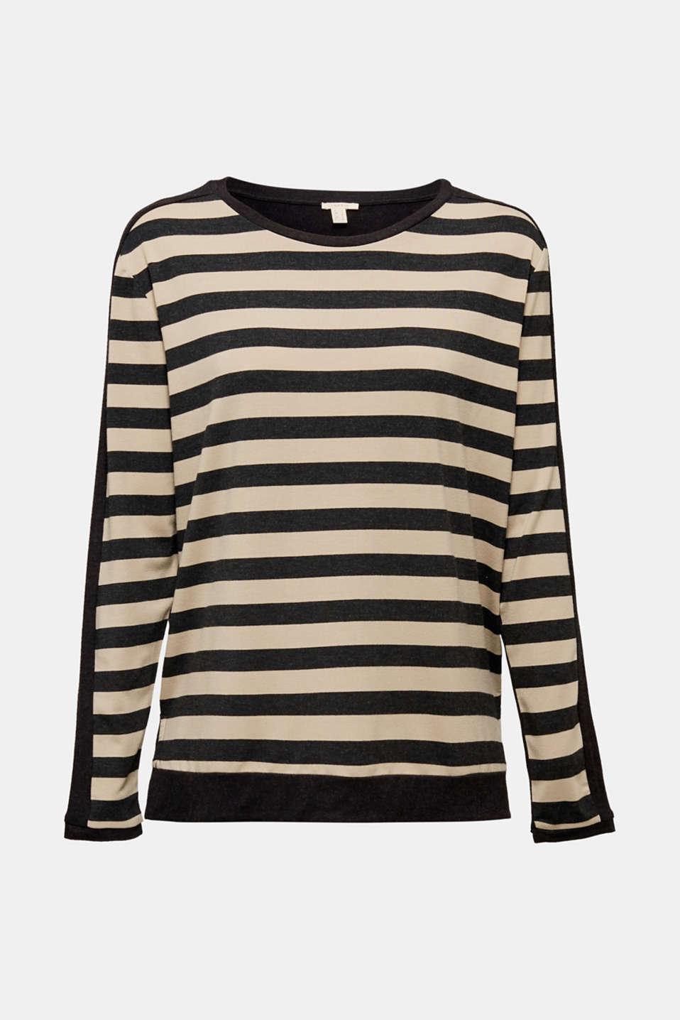 T-Shirts, BLACK, detail image number 7