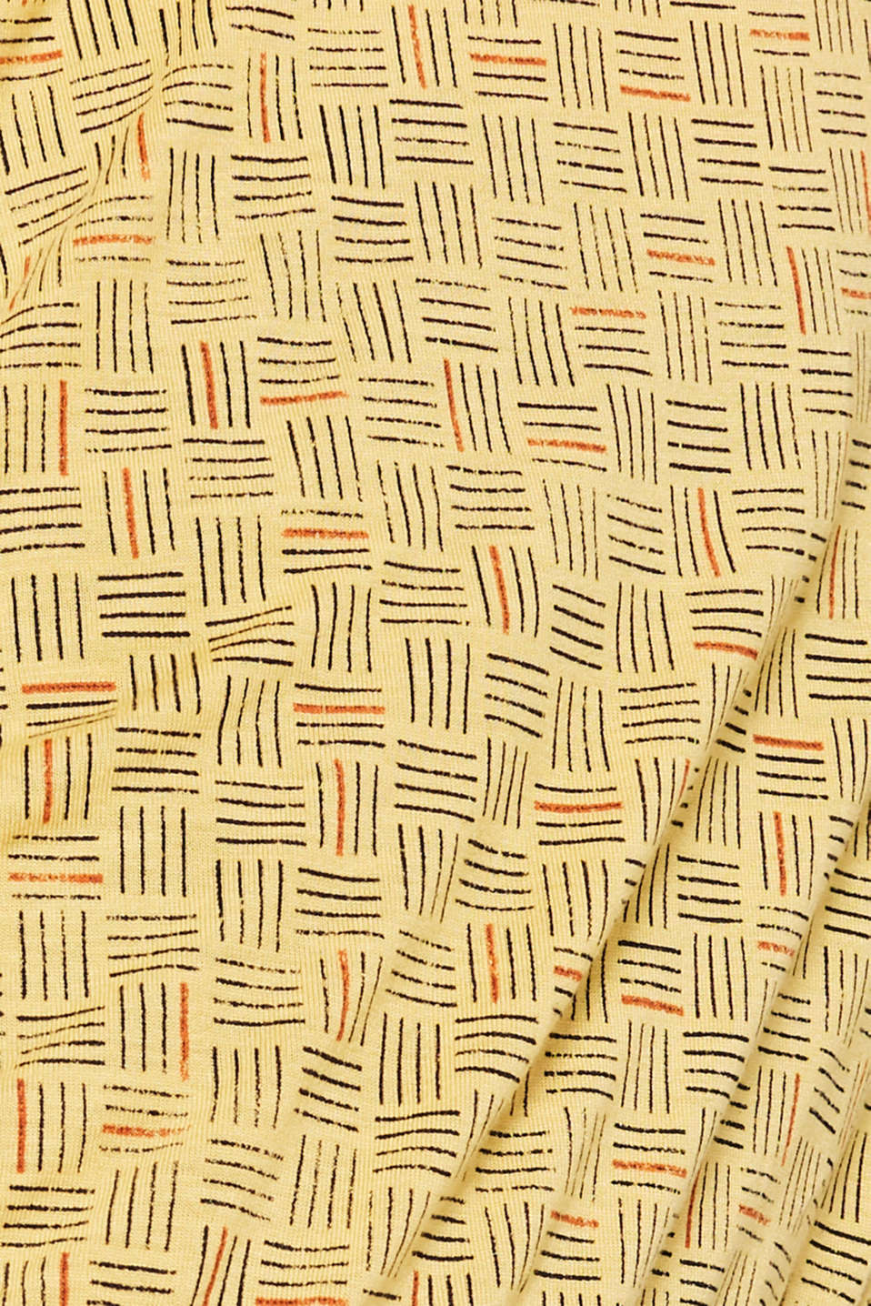 T-Shirts, DUSTY YELLOW, detail image number 4