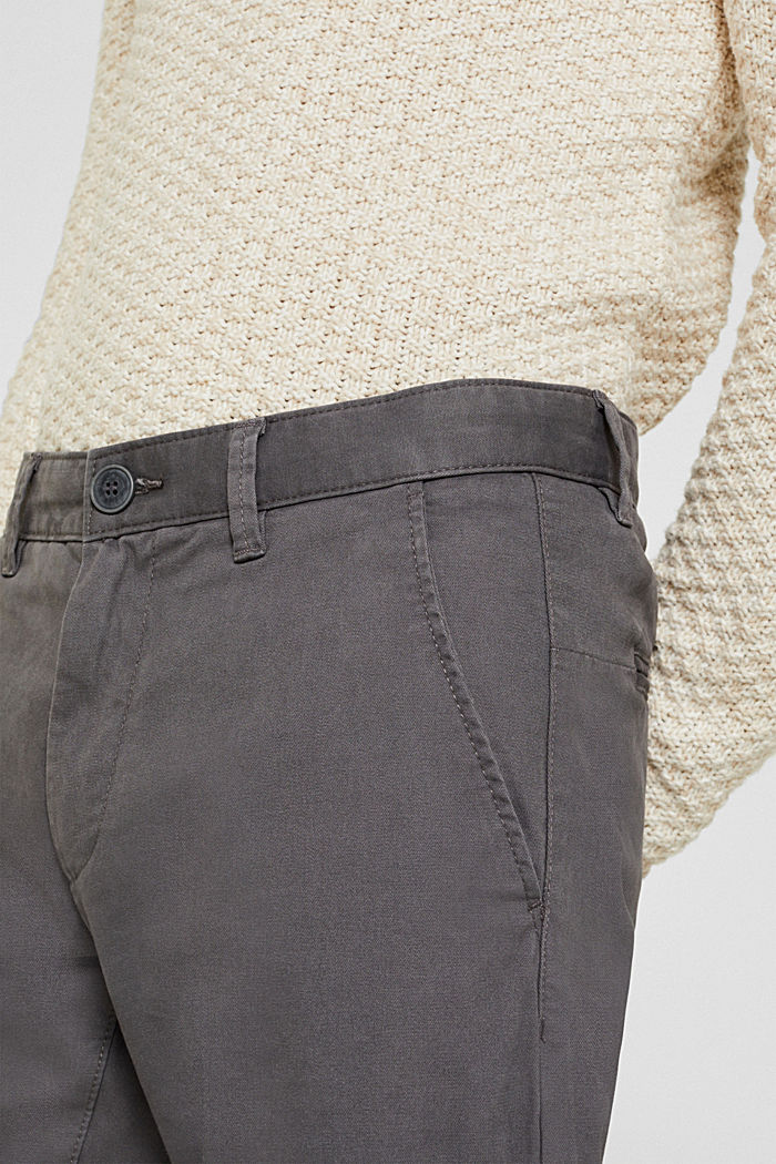 Stretch-Pants mit COOLMAX®, DARK GREY, detail image number 2