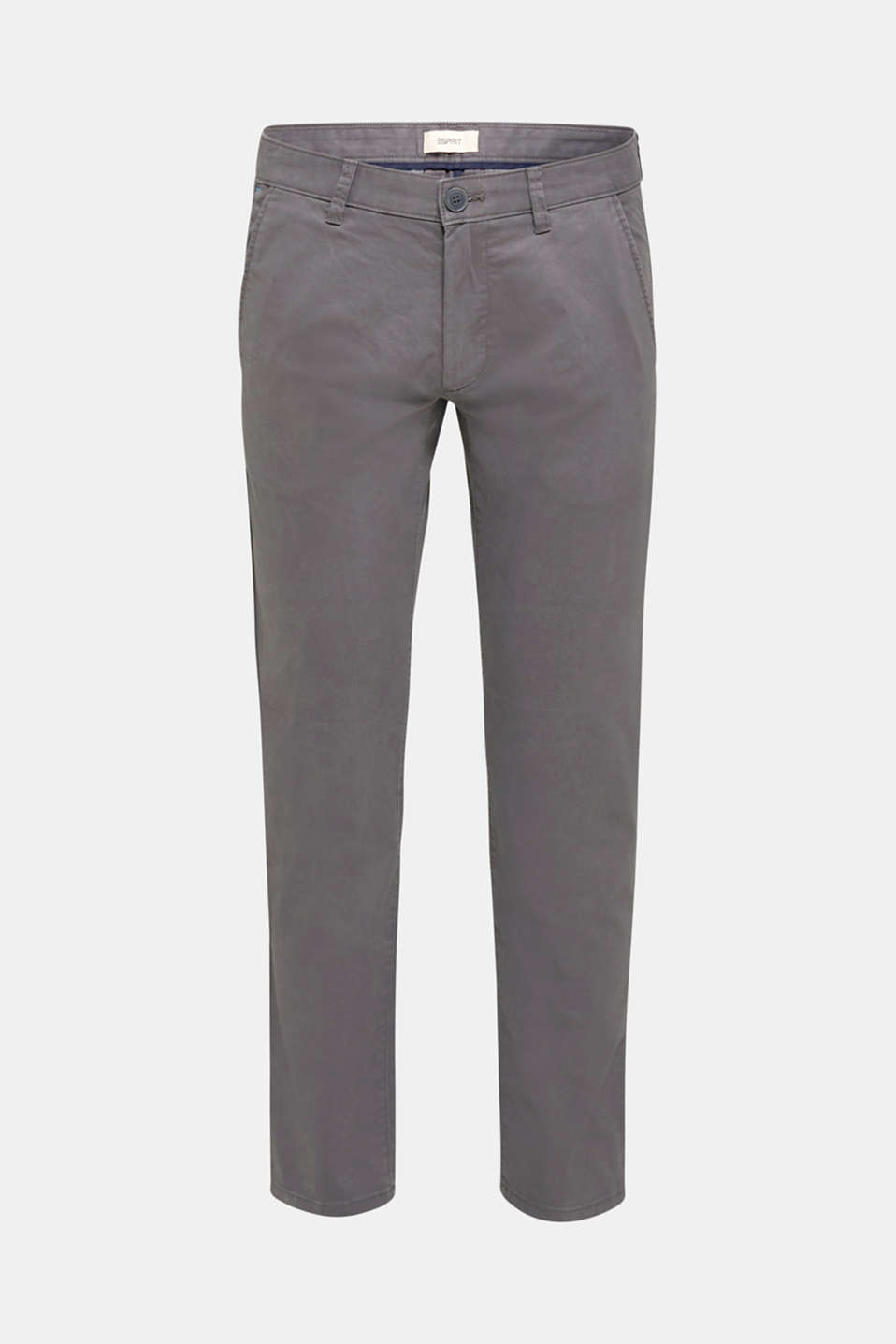 Stretch trousers with COOLMAX®, DARK GREY, detail image number 6