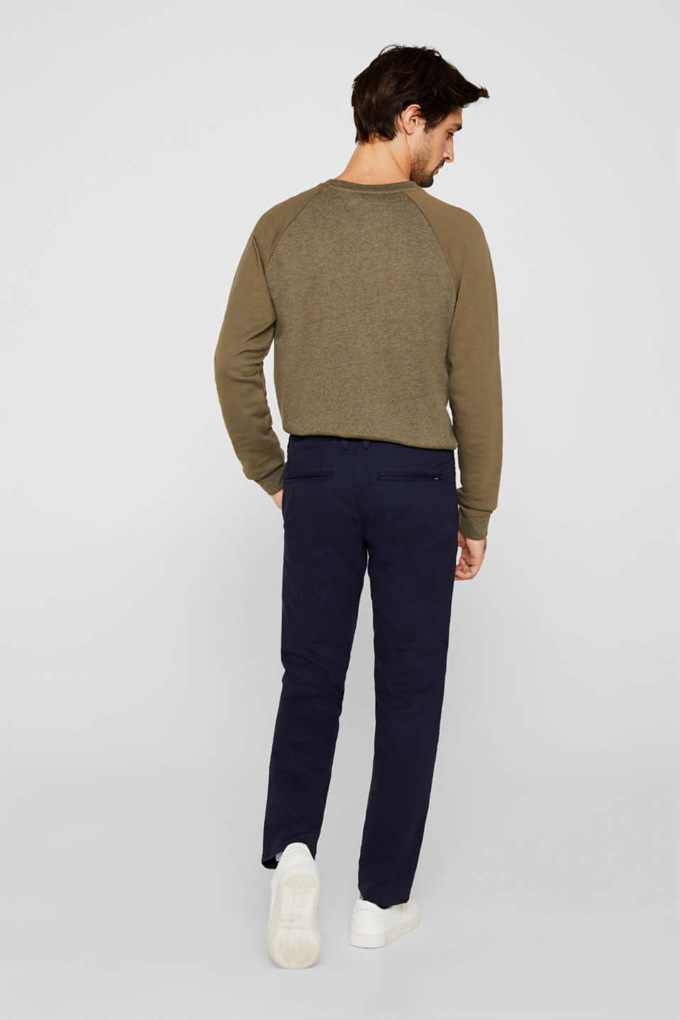 Stretch trousers with COOLMAX®, NAVY, detail image number 3