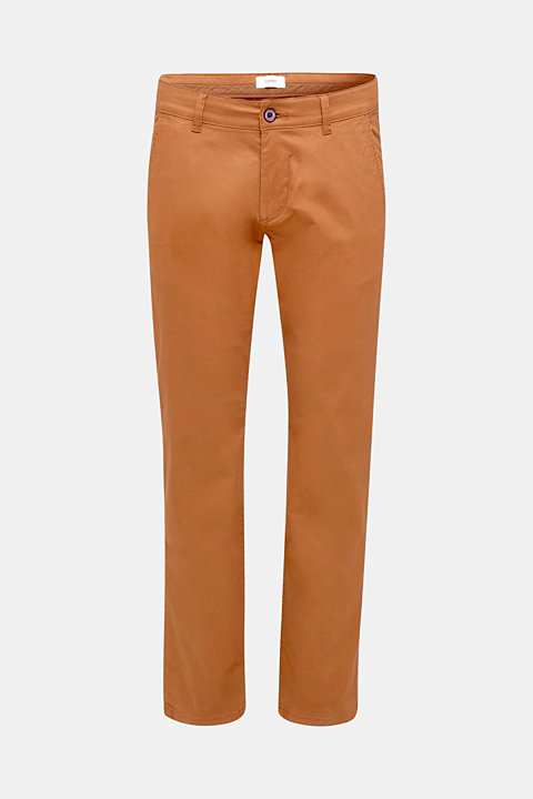 Basic tracksuit bottoms in stretch cotton