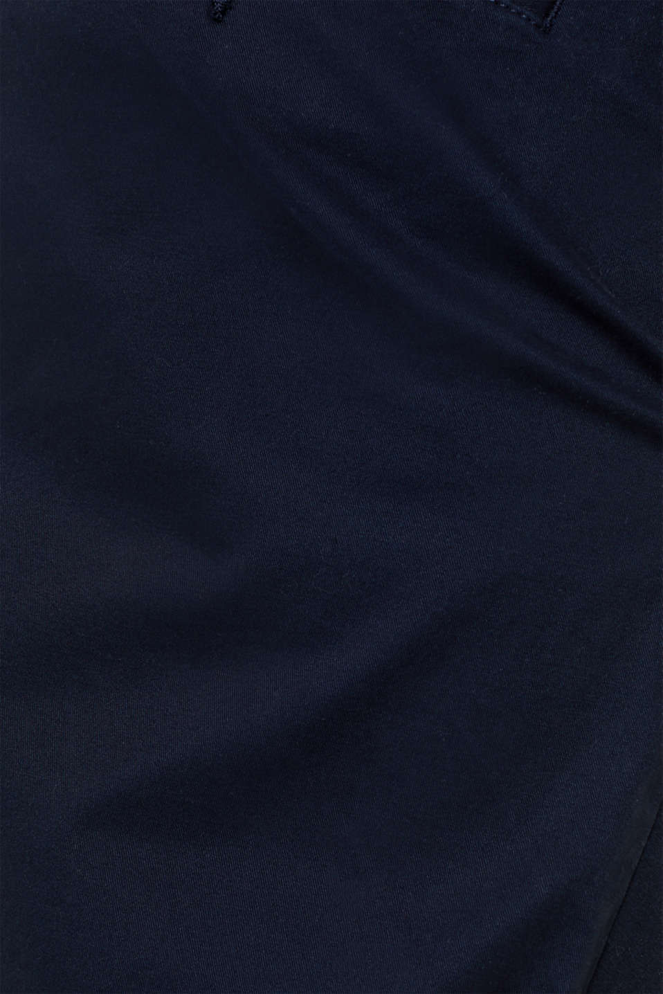 Basic tracksuit bottoms in stretch cotton, NAVY, detail image number 4