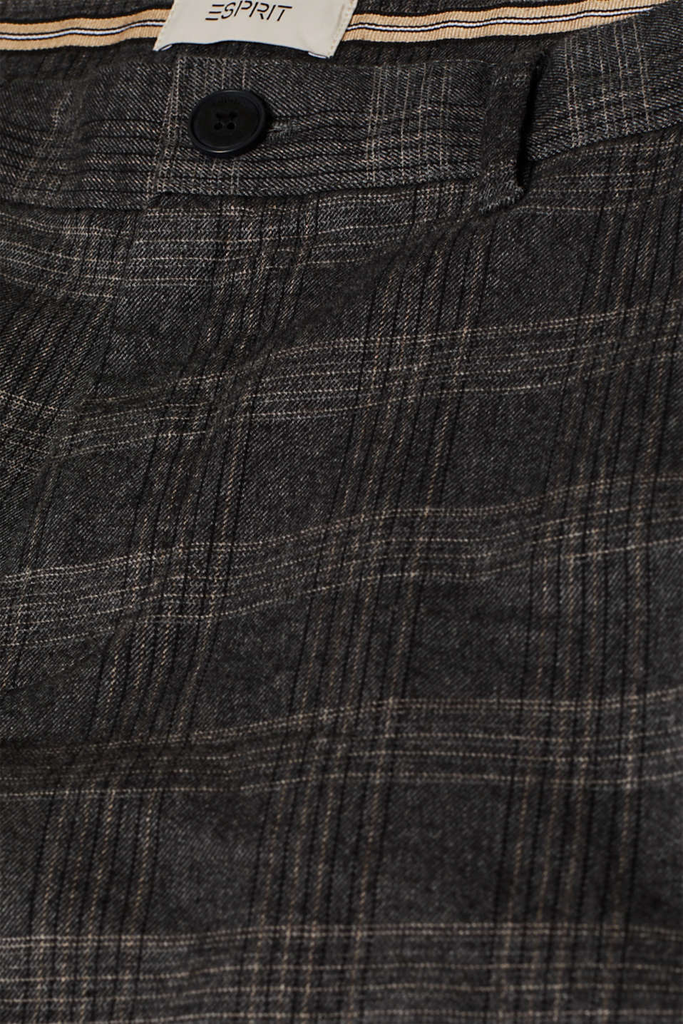 Pants woven, DARK GREY 3, detail image number 4