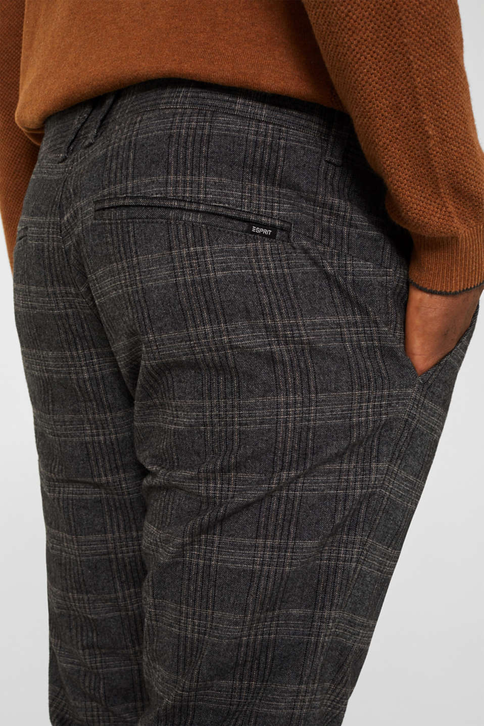 Pants woven, DARK GREY 3, detail image number 5