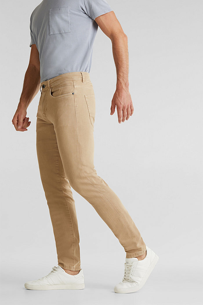 EarthColors®: basic jeans, BEIGE, detail image number 0
