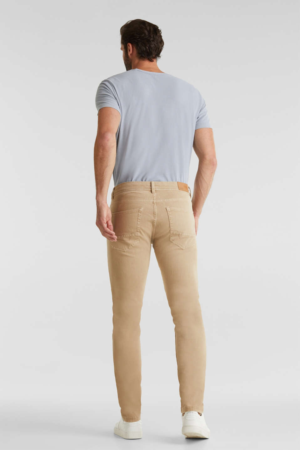 Pants woven, BEIGE, detail image number 3