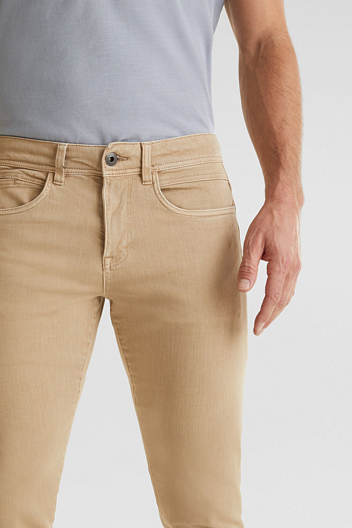 EarthColors®: basic jeans, BEIGE, detail image number 2