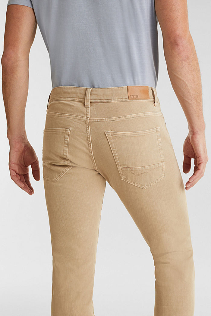 EarthColors®: basic jeans, BEIGE, detail image number 5