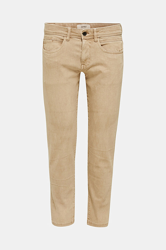 EarthColors®: basic jeans, BEIGE, detail image number 7