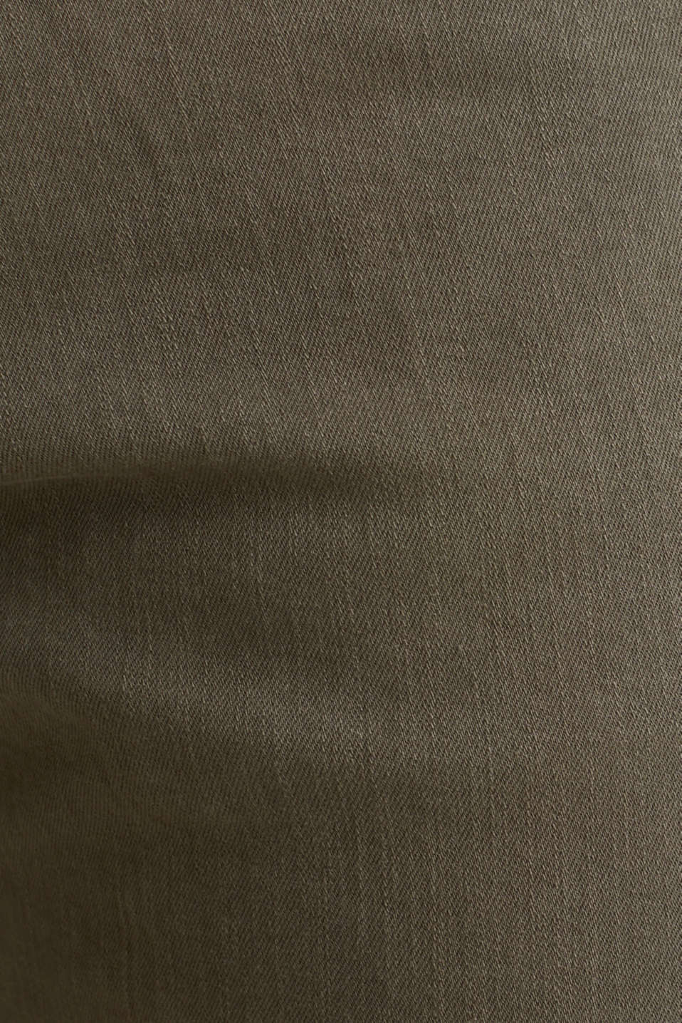 EarthColors®: basic jeans, OLIVE, detail image number 3