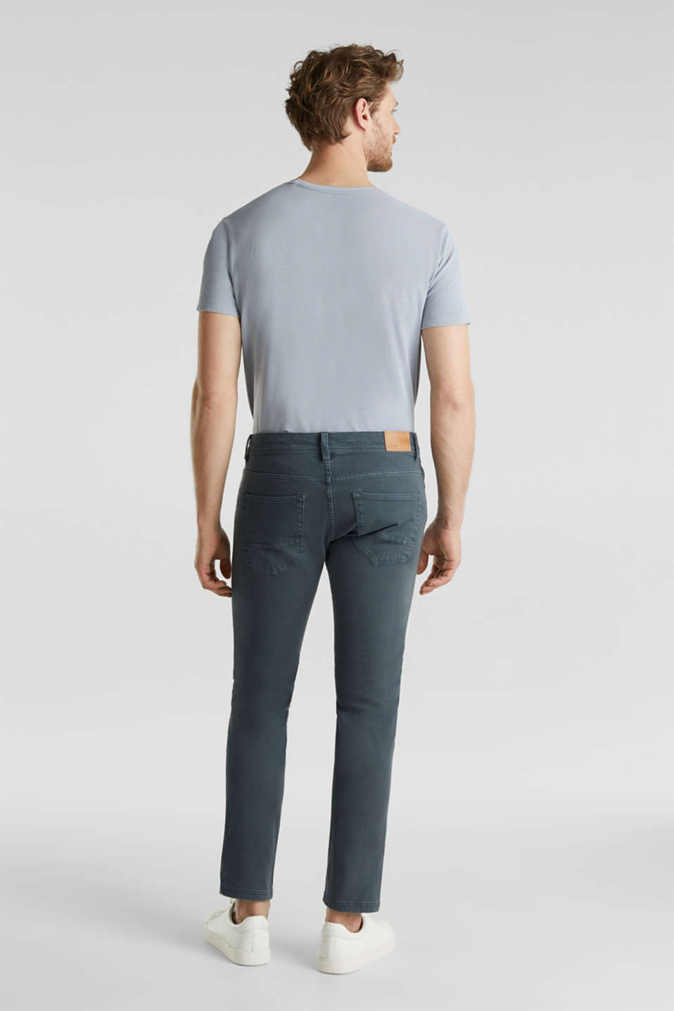 Pants woven, DARK BLUE, detail image number 2