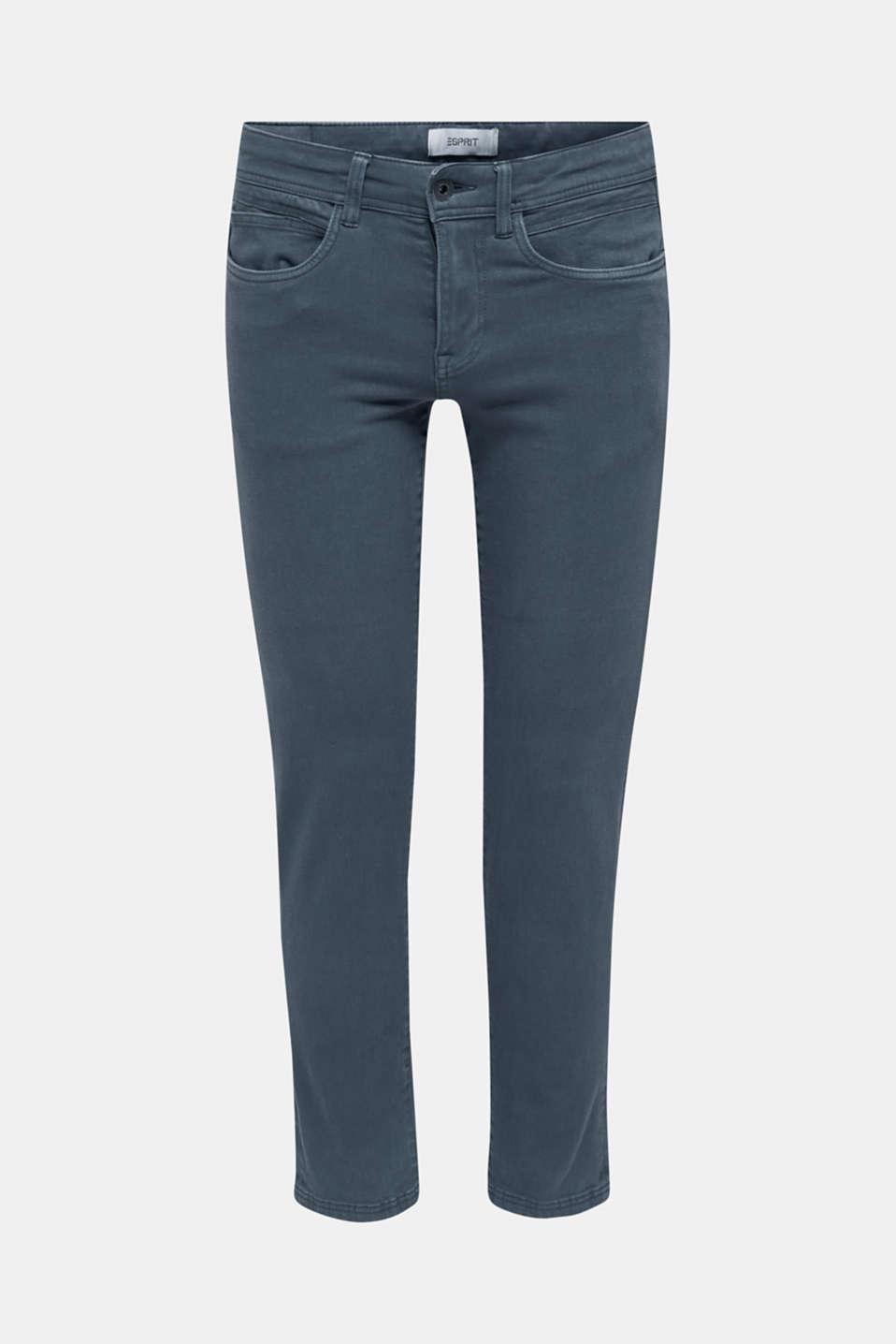 Pants woven, DARK BLUE, detail image number 6