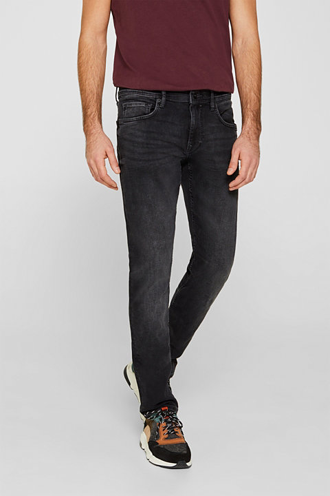 Super stretchy jeans with a washed-out finish