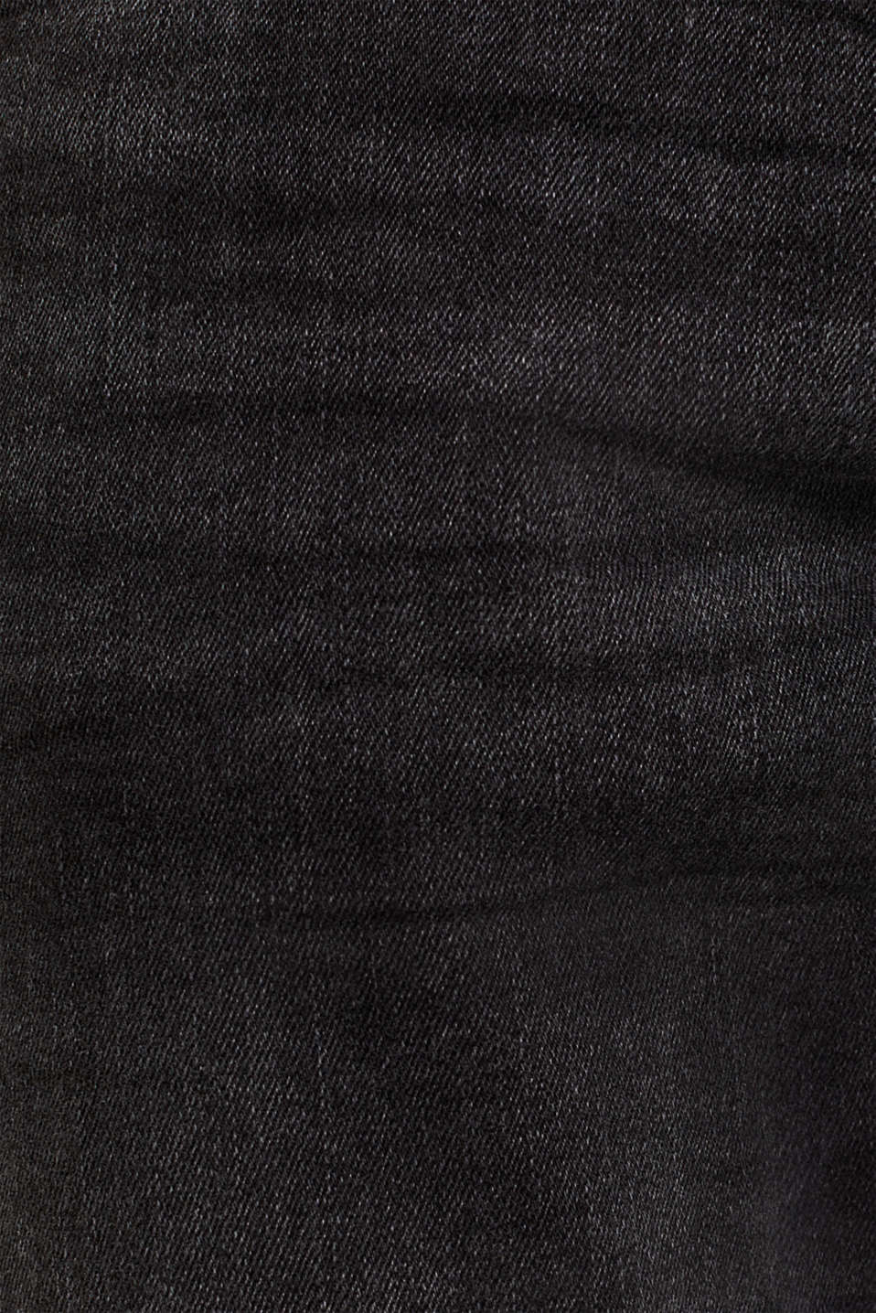 Super stretchy jeans with a washed-out finish, BLACK DARK WASH, detail image number 4