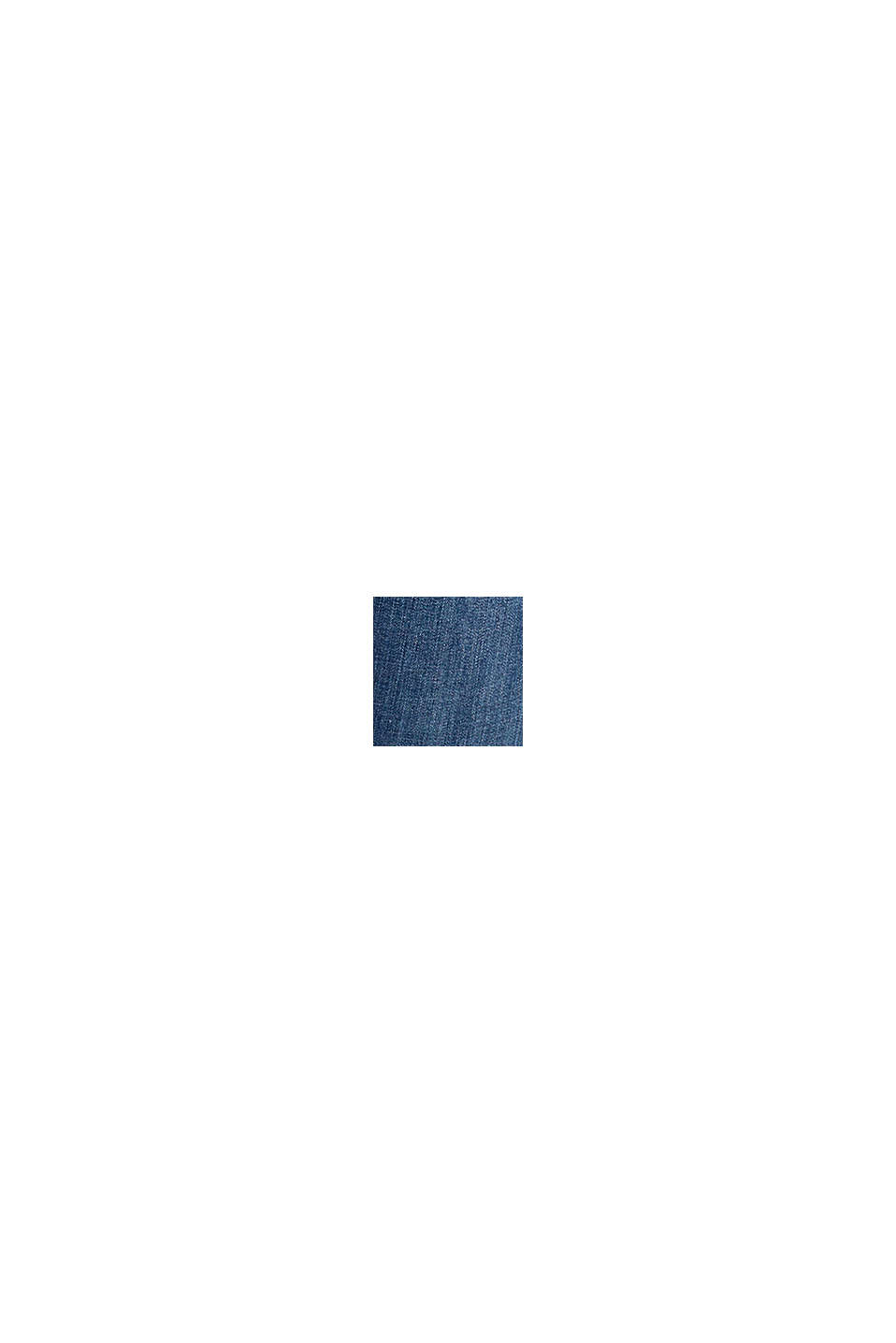 Av ekologisk bomull: jeans med skärp, BLUE DARK WASHED, swatch