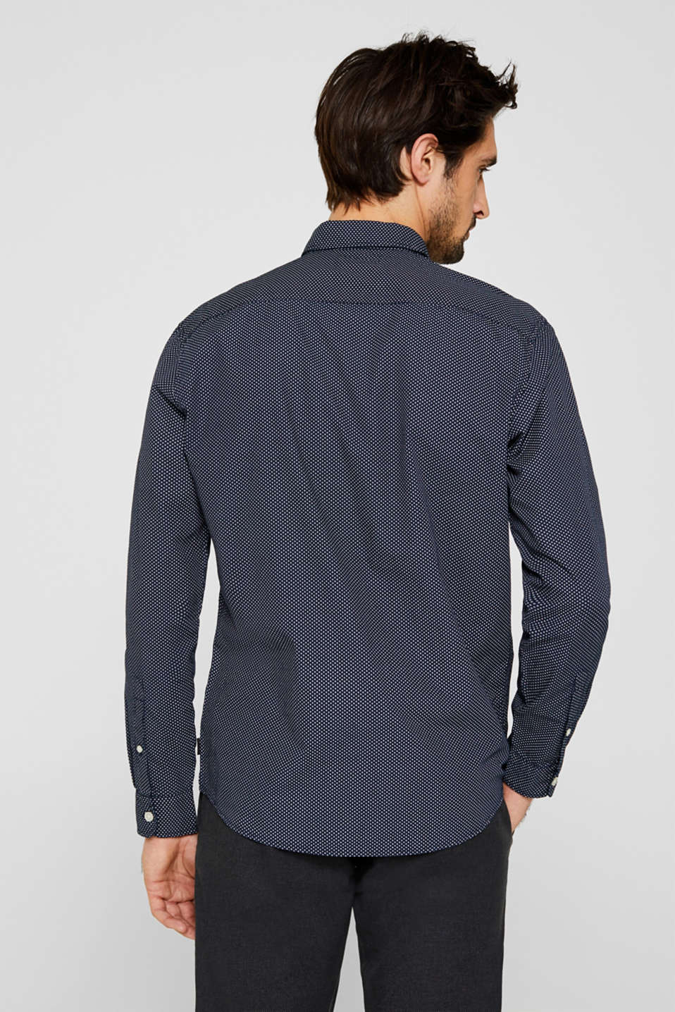 Shirts woven Slim fit, BLUE 4, detail image number 3