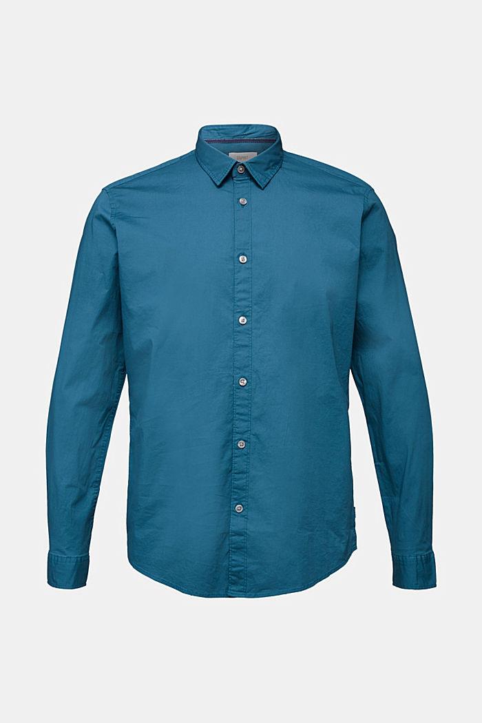 Hemd aus Baumwoll-Stretch