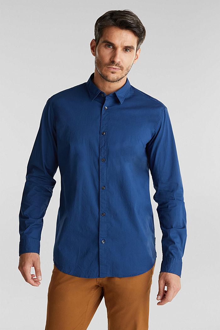 Shirt made of stretch cotton