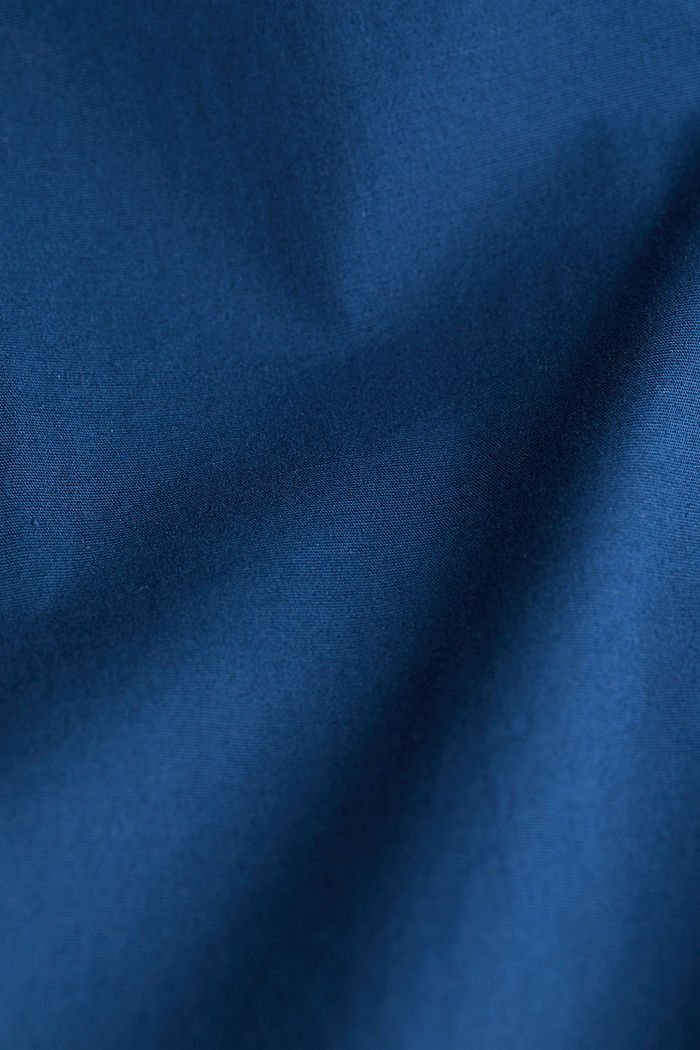 Shirt made of stretch cotton, BLUE, detail image number 4