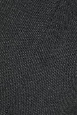 Tailored jacket made of blended cotton, DARK GREY 5, detail
