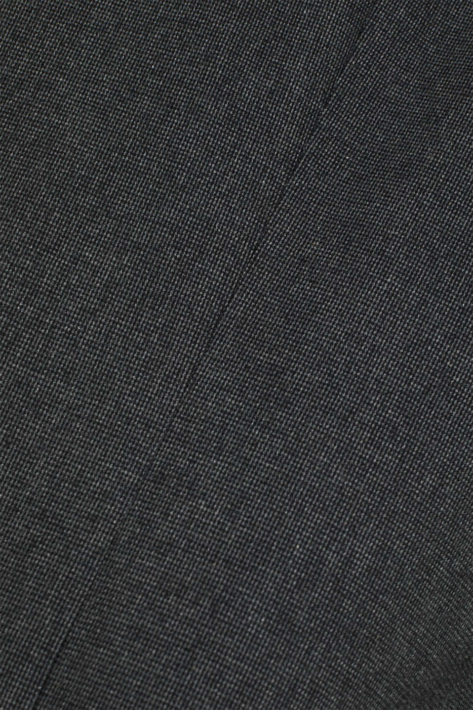 Tailored jacket made of blended cotton, DARK GREY 5, detail image number 4