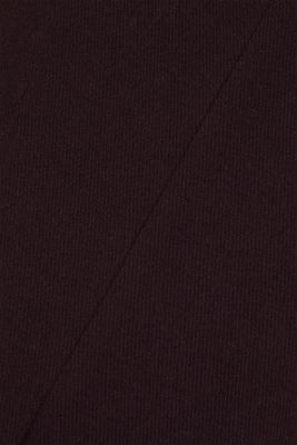 Wool blend: Padded coat, BORDEAUX RED, detail