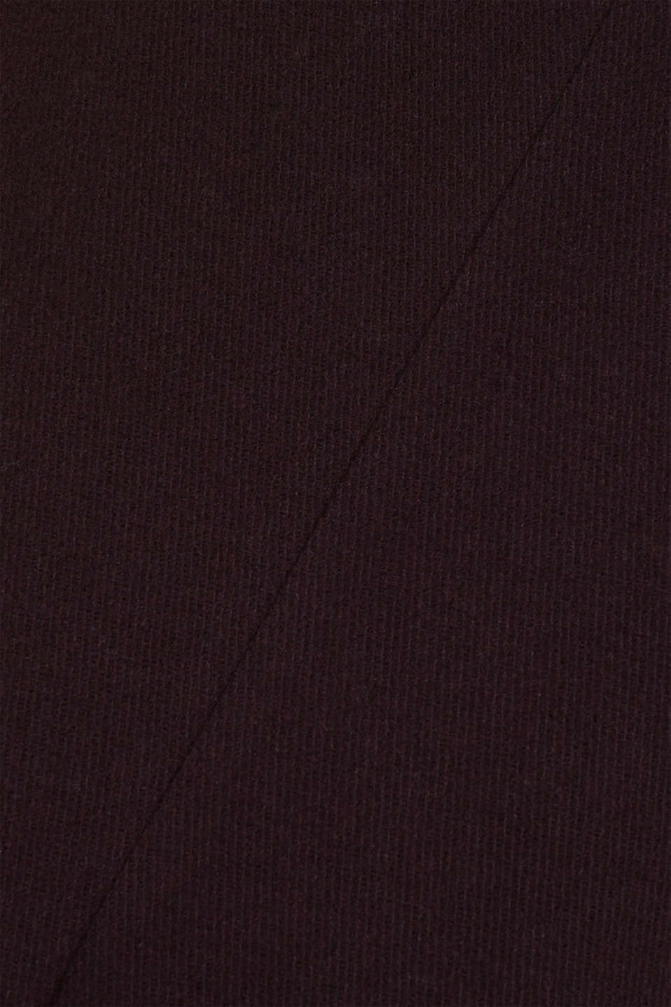 Wool blend: Padded coat, BORDEAUX RED, detail image number 5