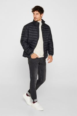 Quilted jacket with 3M™ Thinsulate™ filling, BLACK, detail