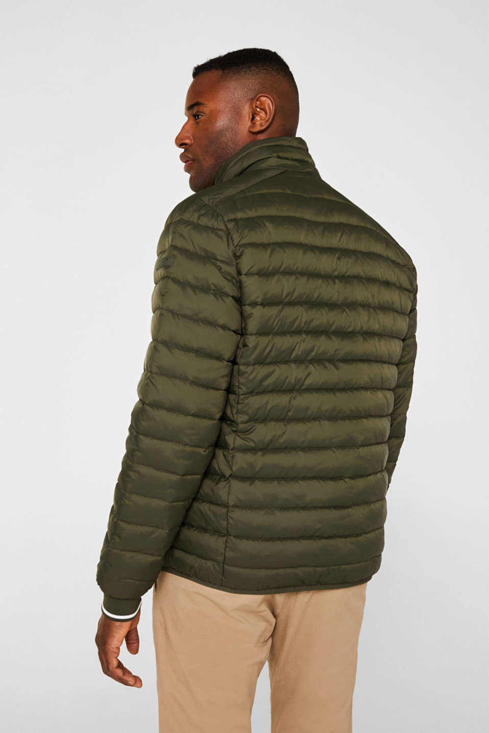 Jackets outdoor woven, KHAKI GREEN, detail image number 3
