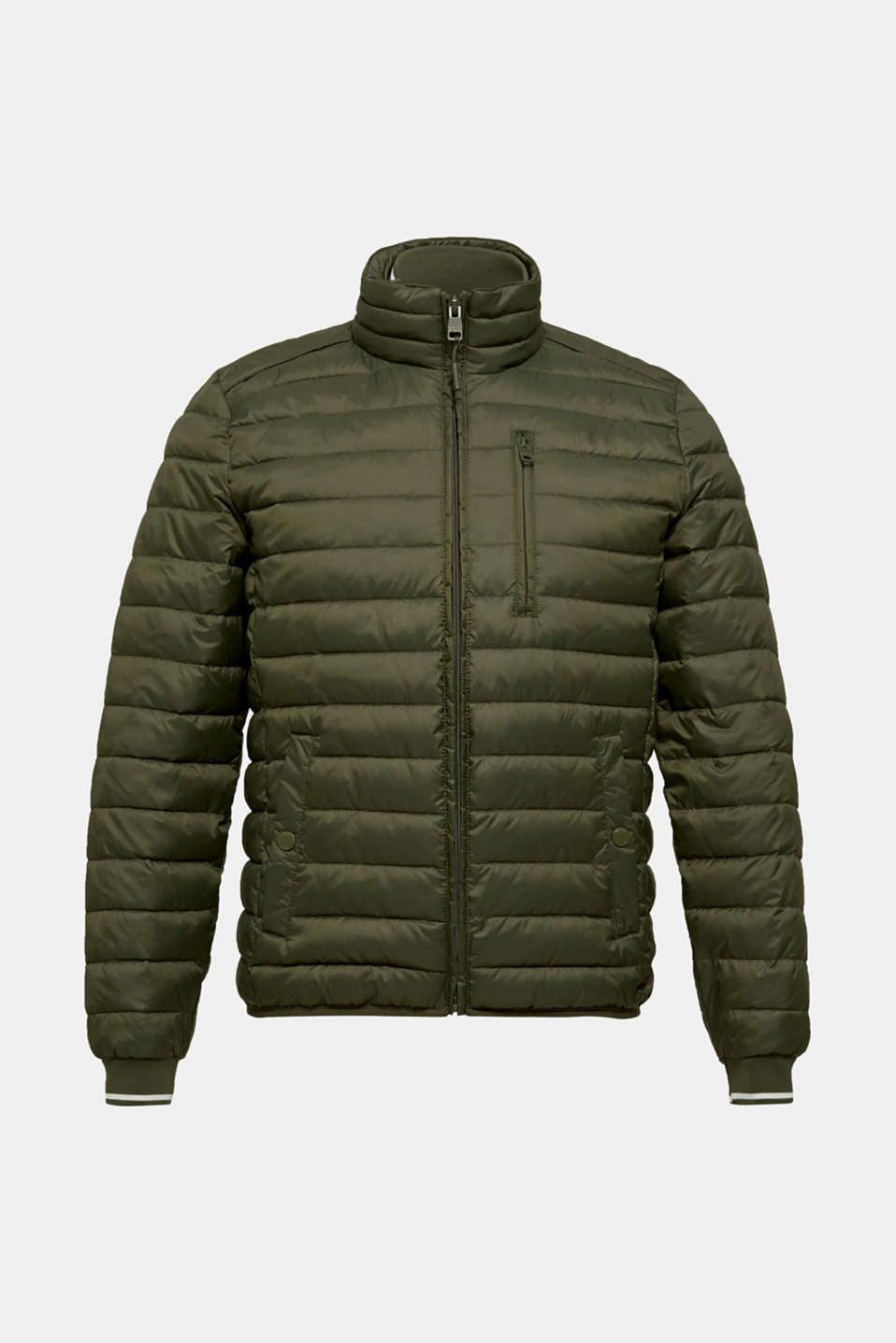 Jackets outdoor woven, KHAKI GREEN, detail image number 6