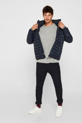 Quilted jacket with 3M™ Thinsulate™ filling, DARK BLUE, detail