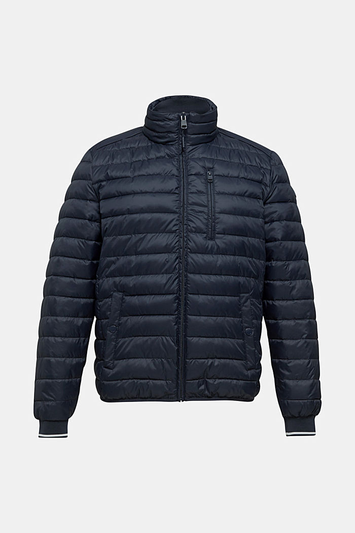 Quilted jacket with 3M™ Thinsulate™ filling, DARK BLUE, detail image number 0