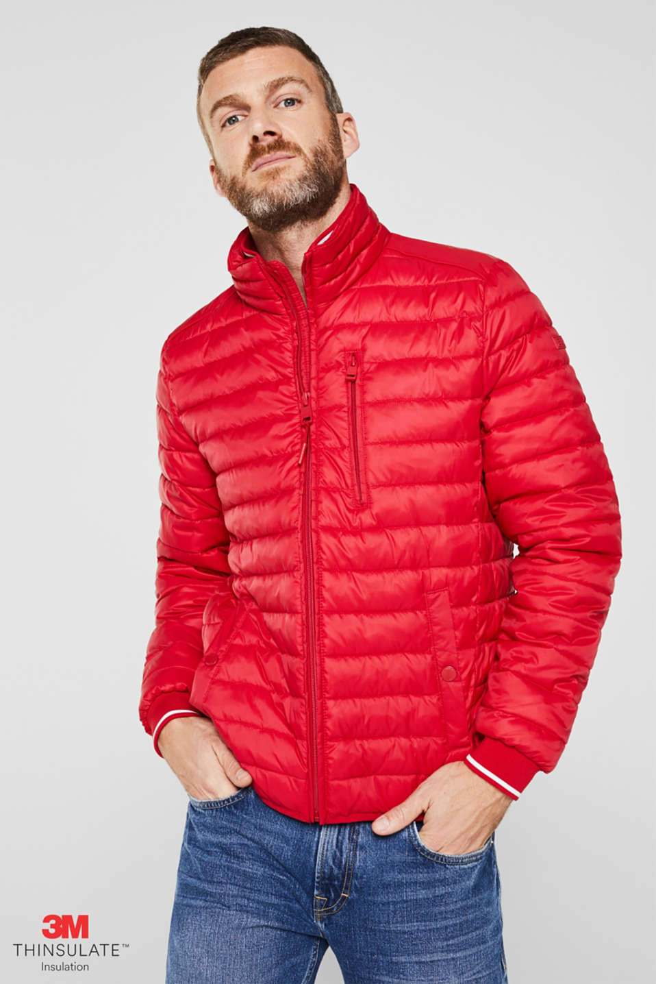 Jackets outdoor woven, RED, detail image number 0