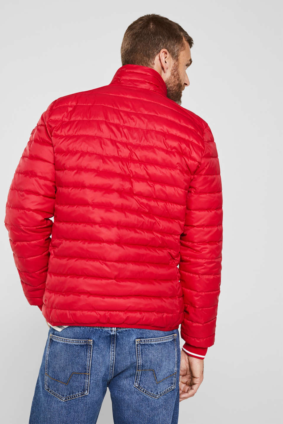 Jackets outdoor woven, RED, detail image number 3