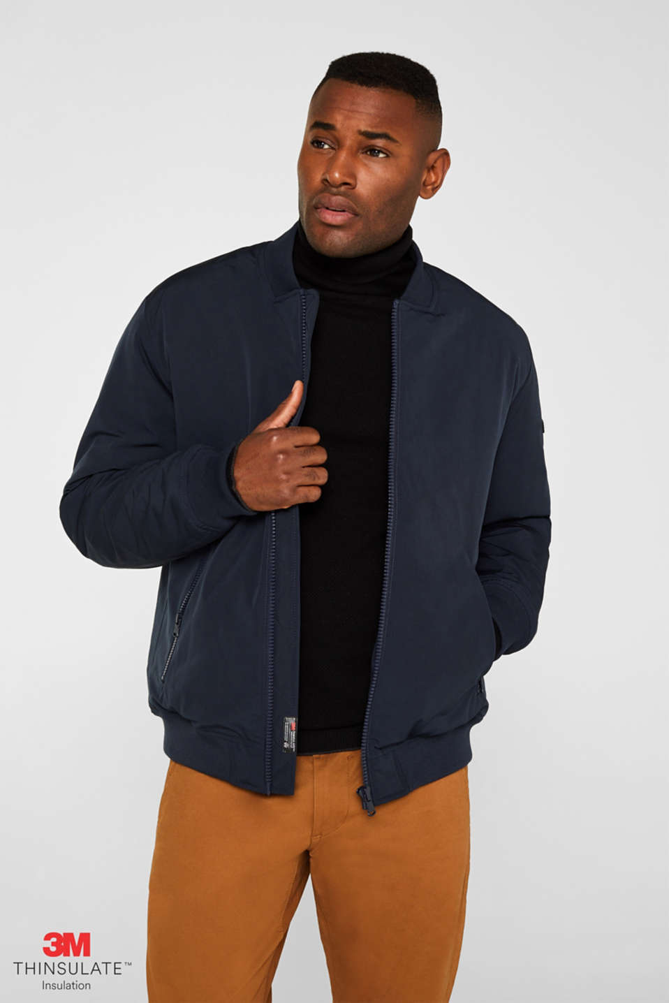Esprit - Bomber jacket with 3M™ Thinsulate™ filling