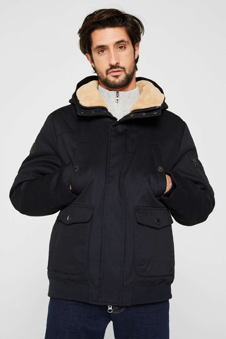 Esprit - Winterjas met 3M™ Thinsulate™-vulling