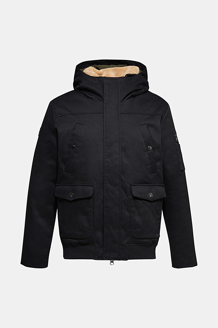 Winter jacket with 3M™ Thinsulate™ filling, BLACK, detail image number 5