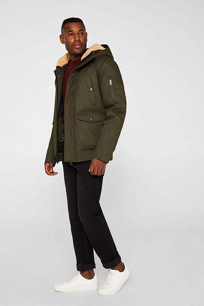 Winter-Jacke mit 3M™ Thinsulate™-Füllung, KHAKI GREEN, detail image number 1