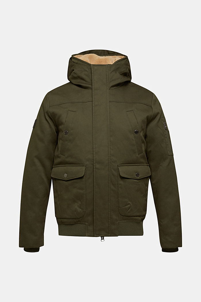 Winter jacket with 3M™ Thinsulate™ filling, KHAKI GREEN, detail image number 1