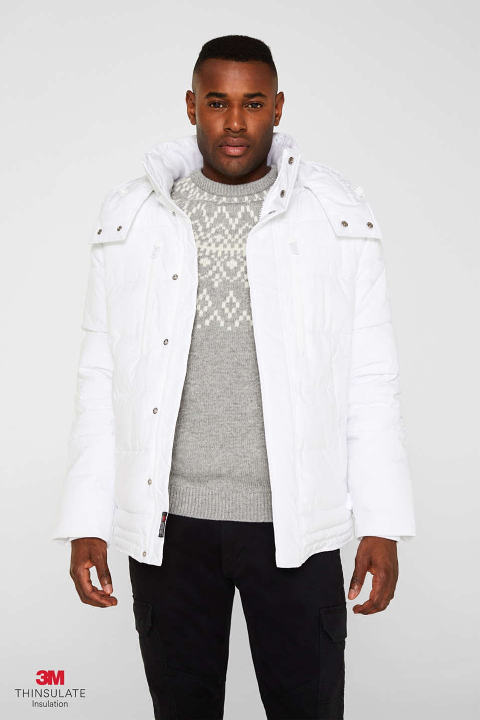Jackets outdoor woven, WHITE, detail image number 0