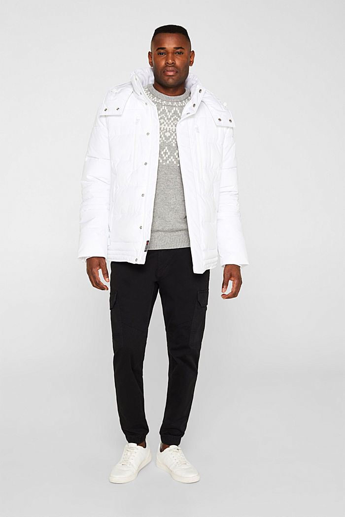 Quilted jacket with 3M™ Thinsulate™ padding, WHITE, detail image number 1