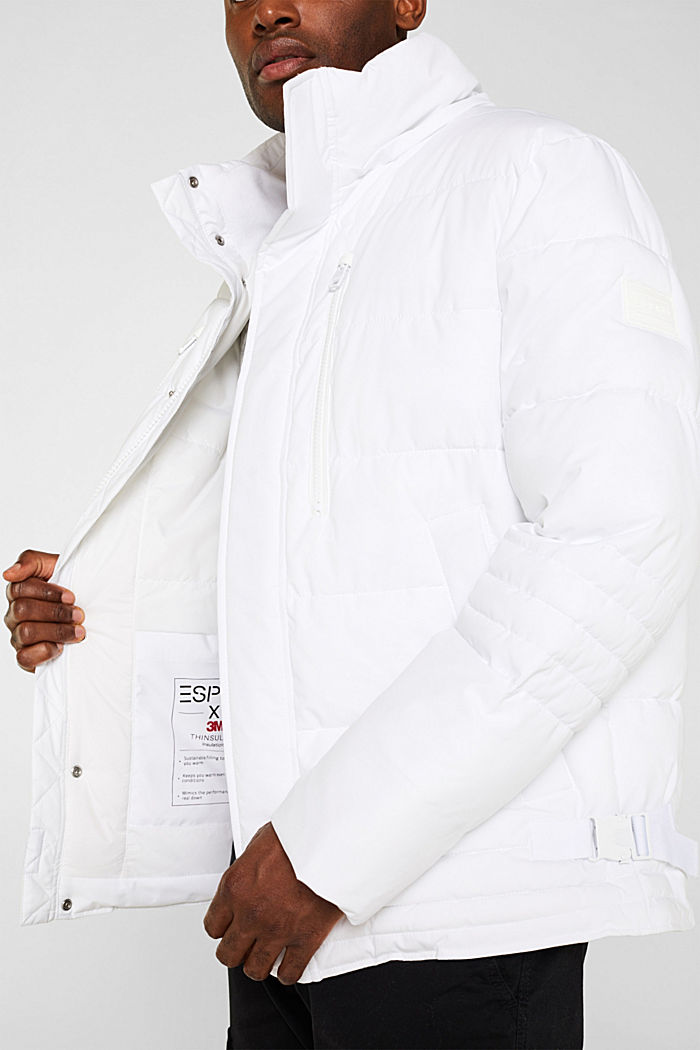 Quilted jacket with 3M™ Thinsulate™ padding, WHITE, detail image number 6