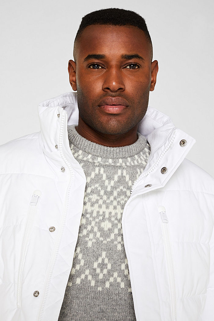 Quilted jacket with 3M™ Thinsulate™ padding, WHITE, detail image number 5